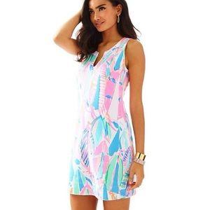Lilly Pulitzer Estrada Printed Shift Dress Size S